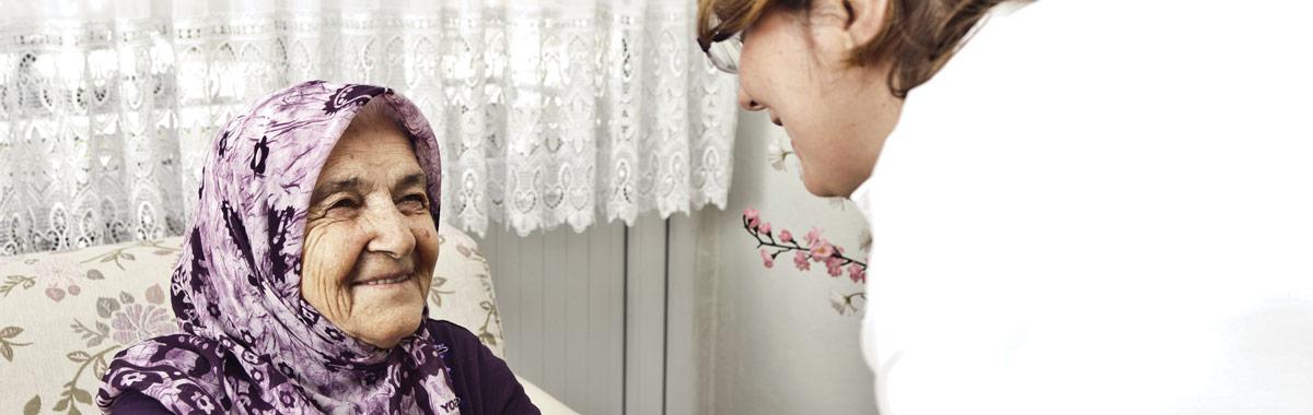 Service de soins infirmiers à domicile