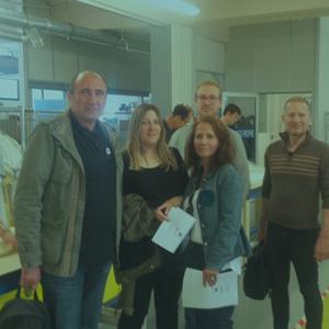 Visite de l'ESAT VERT-PRÉ par un groupe du dispositif OASIS de l'IRTS PACA-Corse